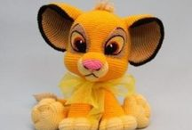 crochet lions