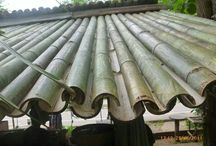 Bamboo Roof / Bamboo roofing