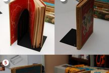 Books, Bookshelves, Library & Crafts