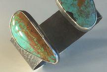 Turquoise treasures / Turquoise jewelry