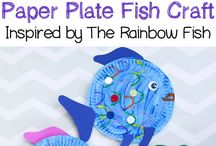 Preschool fish and ocean
