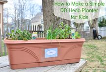 DIY Gardening for Kids / by Stephanie Grant