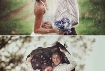 Inšpiracie - Svadba v daždi/ Inspirations - Wedding in the rain