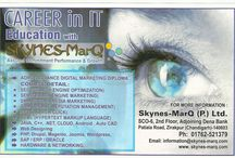 Career In IT Education With skynes-MarQ  / We provide  complete  IT Education   http://skynes-marq.com