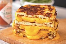 cauli bread with cheese