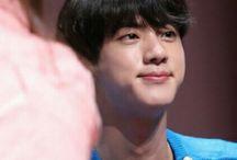 jin's cute smile