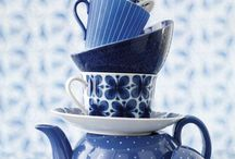Blue and white - China - porcelain