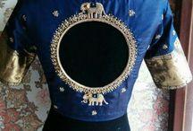 Saree blouse design patterns