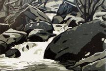 Sten och klippor