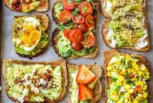 Avocado Toast / Avocado toast, it's what's for breakfast, lunch nd dinner. Find recipes and serving ideas here.
