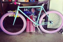 Bike, fixie, love