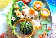 Rilakkuma Foods リラックマ スイーツ&ごはん / Rilakkuma sweets & foods. I 'm uploading some I've made:)) 大好きなリラックマのスイーツや、キャラごはんなど。 自分でも時々作るので、随時アップします♡