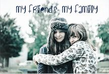 5girls ❤ / My friends? They're my family!!