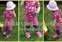 Nähen für die Kleinen / Sewing for the little ones / Kreative Ideen, Schnittmuster, Tutorials, Nähanleitungen, Freebies, Freebooks, creative ideas, patterns..