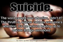 Suicide / Quotes about suicide from all over de world