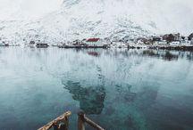 Scandinavian Nature (Inspiration boards)