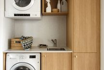 SMALL Laundry Ideas