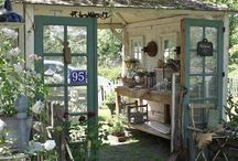 outdoor sheds!