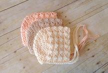 Örgü bebek şapkası