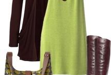 brown green