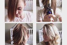 Hair, outfits, make up.