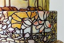 Stained glass cakes