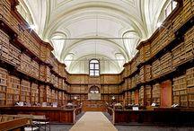 La librairie / Bookshelves / by Rose Lewald