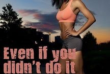 Fitness inspiration / Pins that motivate and inspire you to do more!
