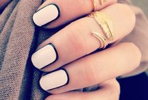 Nail crazy! / Fancy nail designs paired with KDJ rings!