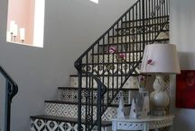 Tiled Spaces We LOVE - stairs / Inspirational staircases that use tiles