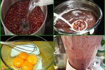 Cách làm kem tươi đậu đỏ