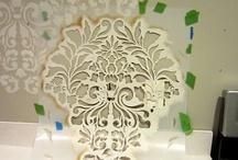 Damaškové dekoarace