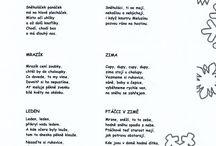 zimní básničky