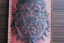 veg tan leather sleeve, Phone case, full grain veg tan leather, nude, natural leather, handcrafted