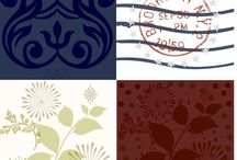 Fabric / Original Fabric Designs by Drape Studio;  visit our fabric shop to see all our fabrics at www.spoonflower.com/profiles/drapestudio  All patterns are also available as wall paper so you can create a designer room in a click!  Designs also come as gift wrap too!