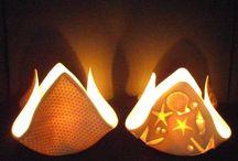 Pottery votives