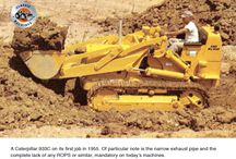 Caterpillar's 933 traxcavator / Following the acquisition of the Trackson Corporation by Caterpillar in 1951, Caterpillar continued to use Trackson's loader attachments fitted to D2, D4, D6 and D7 tractors. Trackson had been founded in 1922 in Milwaukee, Wisconsin, and built a plethora of attachments for not only Caterpillar but other manufacturers as well.