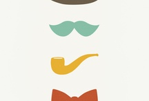 illustrations chapeau moustache