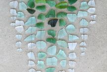projects with sea glass