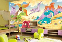 Dinosaur Wall Murals / The love for dinosaur mural and Jurassic wall murals as kid's wallpaper has never been this popular. Re- live your childhood memories with Giant Triceratops, T-Rex's and discover fossils that remind you of all the fun times you had when you were a child. Allow your own children to experience the love of their favorite characters come to life with our boys bedroom ideas and girls playroom ideas.