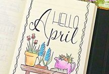 DIARY IDEAS ☆ - spring, Easter