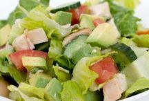 {Recettes} Salade