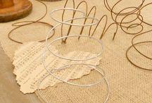 lavori con filo di ferro arrugginito
