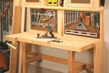 Fold out tool cupboard