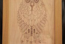 SearWood Crafts / Pyrography