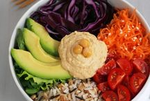 Buddha Bowls / Delicious vegetarian and vegan buddha bowls