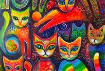 Animals doodles ,zentangle