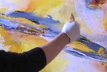 Video paintins