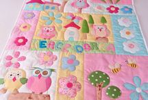Baby Quilt / Sweetie, cute and cheersfull