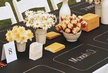 PARTY ON: Chalk it up / by Tiffany Benson <PaperLaneDesign>